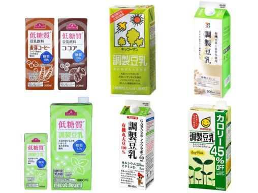 調整豆乳の糖質