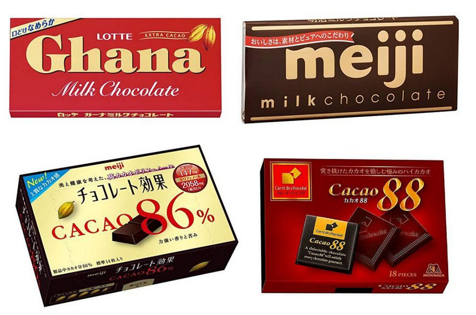 板チョコ 糖質