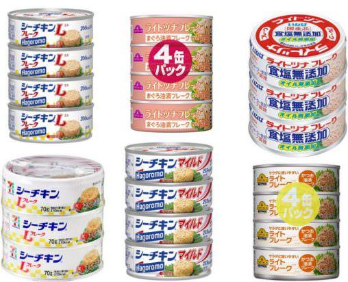 ツナ缶 シーチキン 糖質