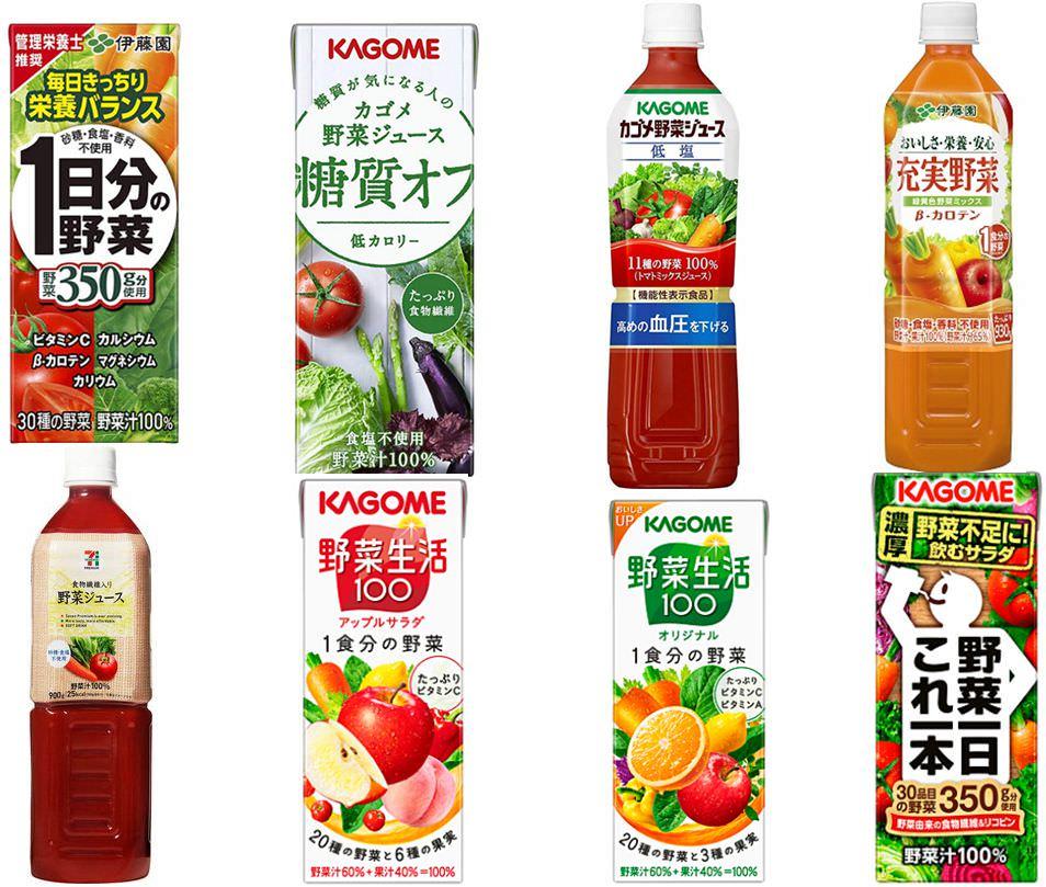 野菜ジュース 糖質